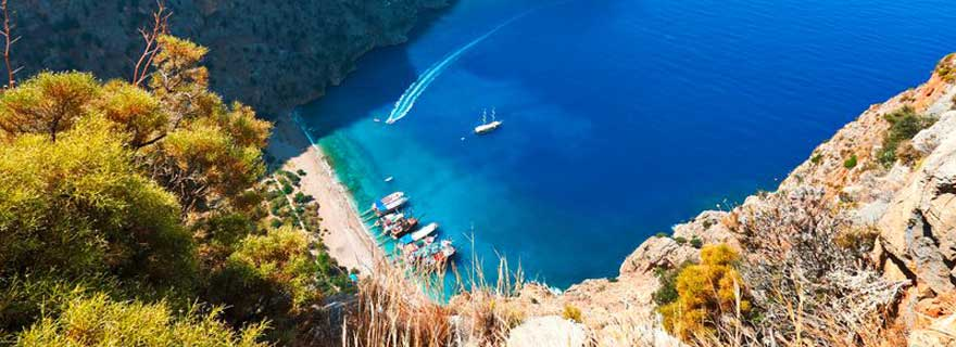 Bucht in der Türkei