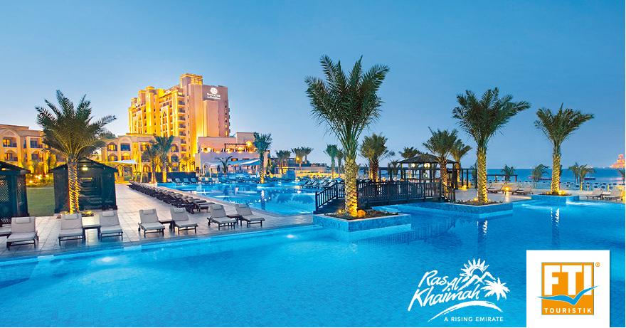 5 Sterne Hotel: DoubleTree by Hilton Resort & Spa Marjan Island
