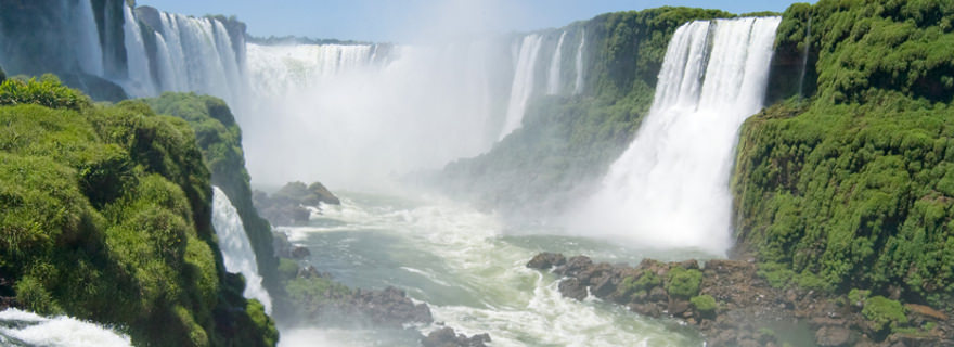 Wasserfall im Iguacu Nationalpark