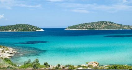 Blick aufs Meer: Griechische Insel