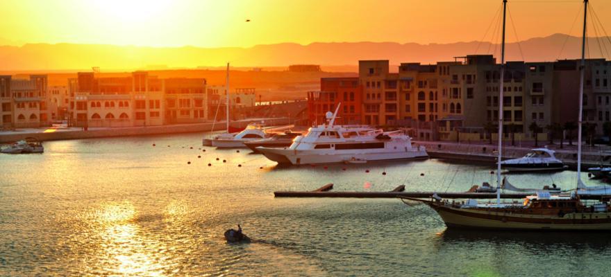 Hafen in El Gouna