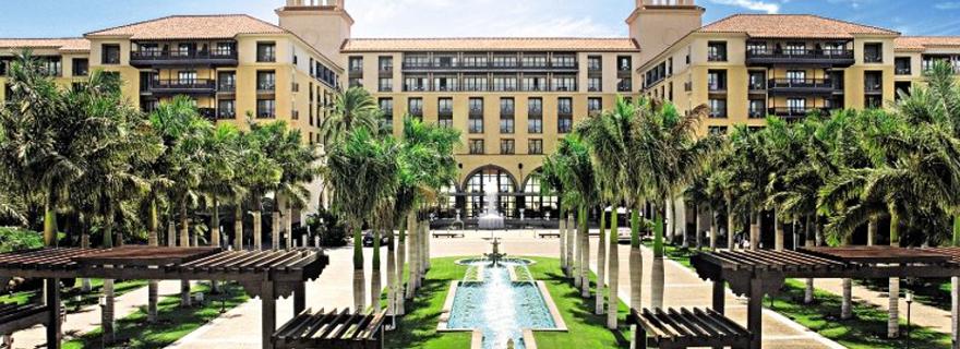 Blick auf das Hotel Lopesan Costa Meloneras