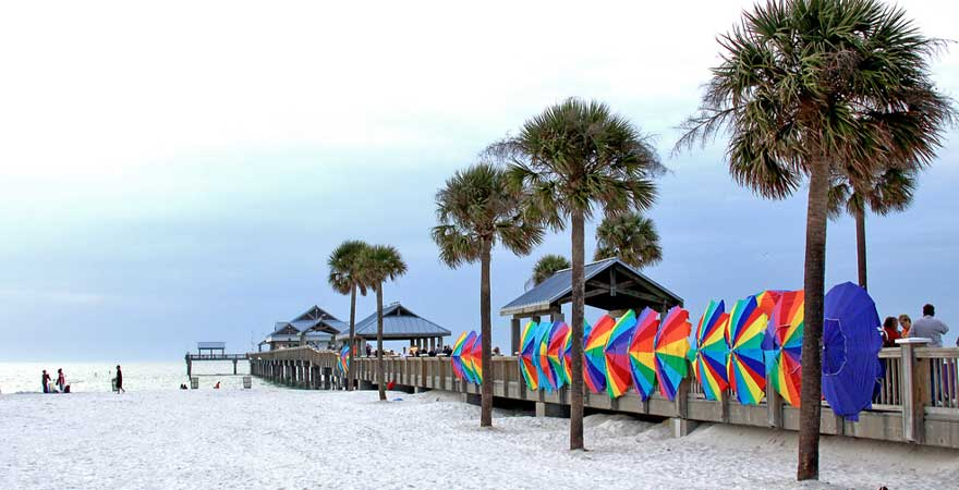 Strand Clearwater Beach in Florida