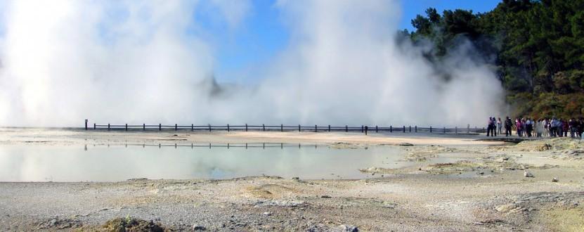 Heiße Quellen in Rotorua