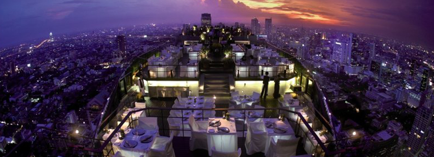 Rooftop Bar: Banyan Tree Bangkok