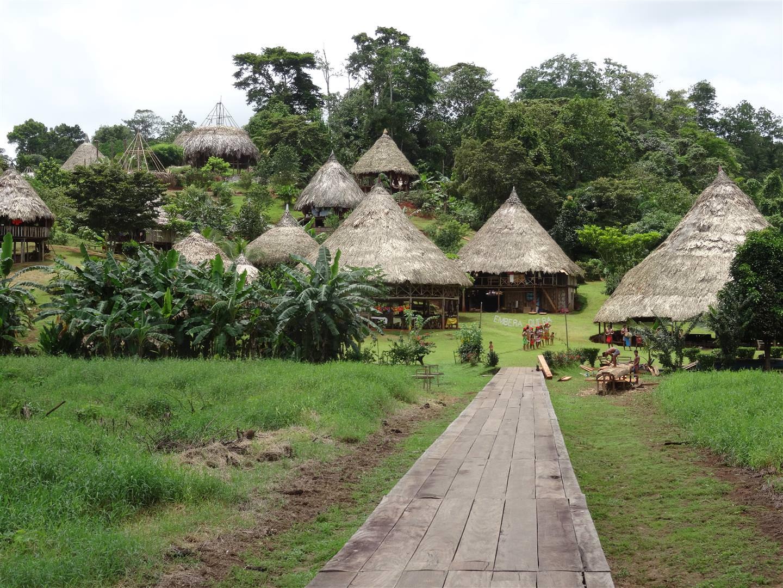 Embera Indianer