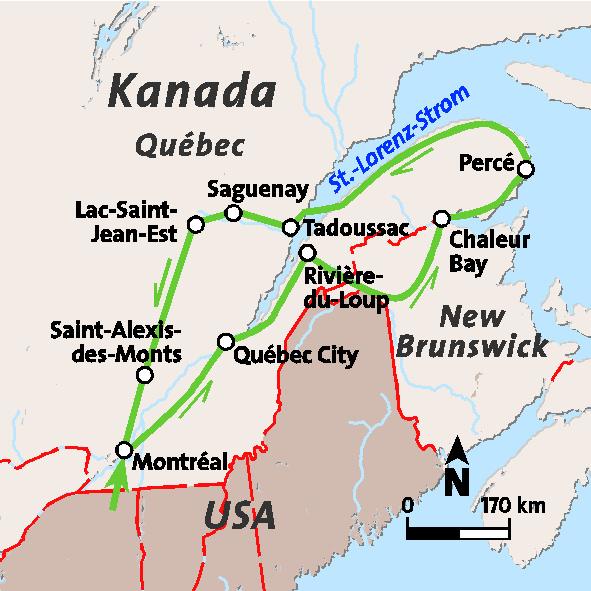 Rundreise Kanada