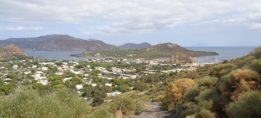 Aussicht von Vulkano