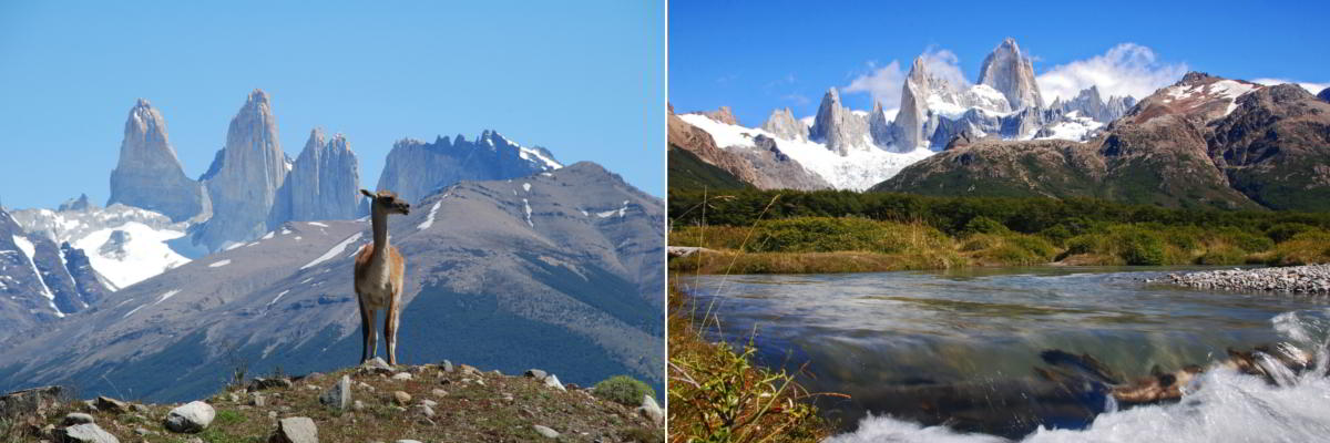 Torres del Paine park in Chile