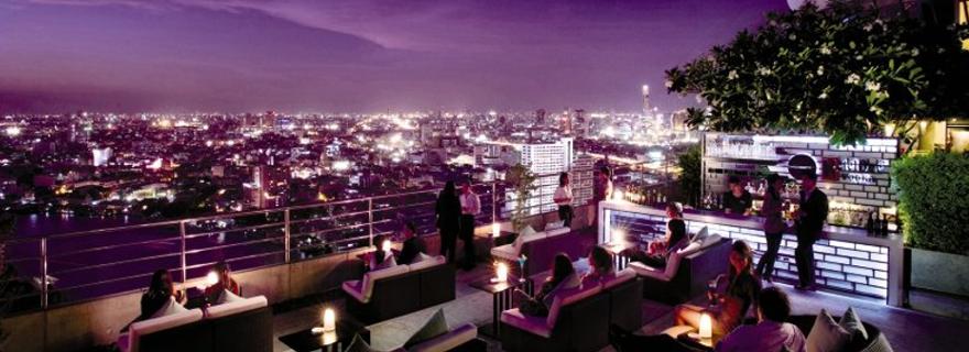 Rooftop Bar Millennium Hilton Bangkok