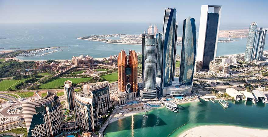 Gebäude in Abu Dhabi