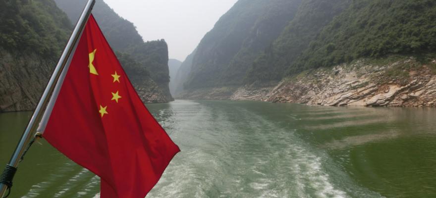 Fahrt auf dem Yangtze