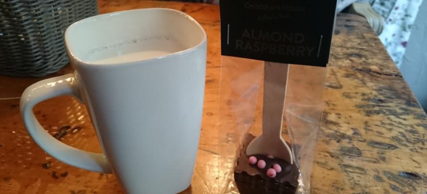 "leckere heiße Schokolade im ""Chocolate House"""