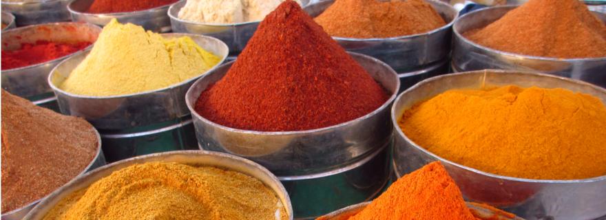 Marokko Gewürzmarkt