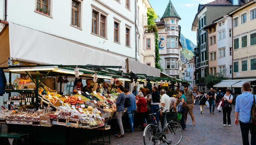 Wochenmarkt Bozen