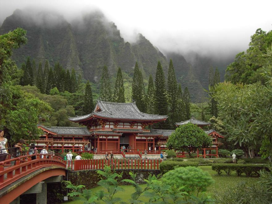 Byodo-In Tempel auf Hawaii
