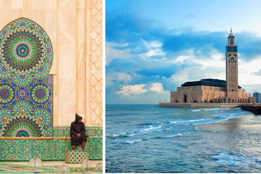 Moschee in Casablanca: Hassan-II.-Moschee