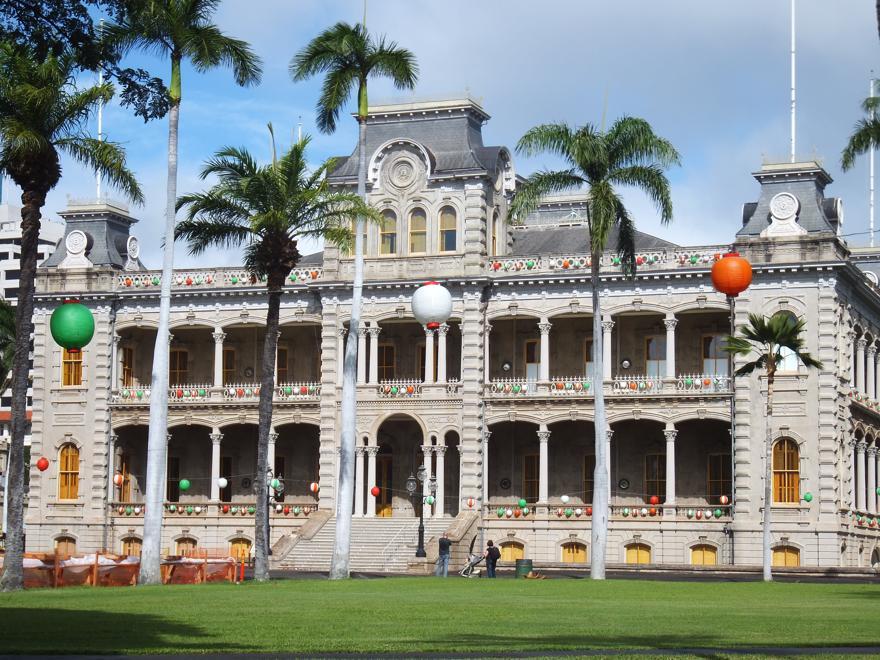 Iolani Palace auf Hawaii