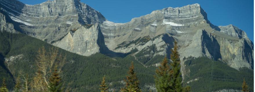 Aussicht vom Rocky Mountaineer