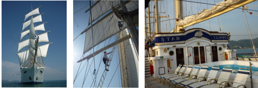 Star Clipping Segelboot