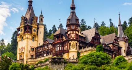 Burg in Rumänien