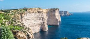 Sannap Klippen auf Gozo