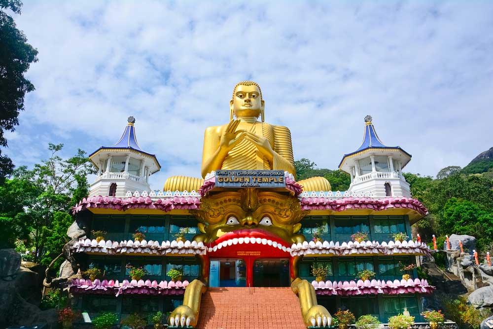 Dambulla Tempel in Sri Lanja
