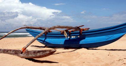 Boot Strand Meer Sri Lanka Asien