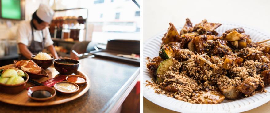 asiatische Küche in Singapur