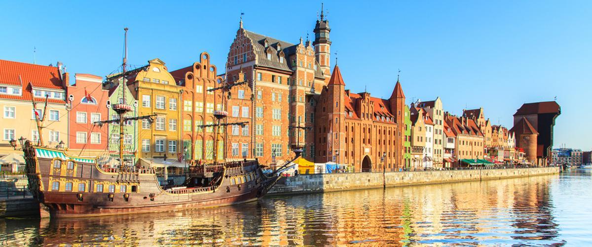 Polen: Stadt Danzig