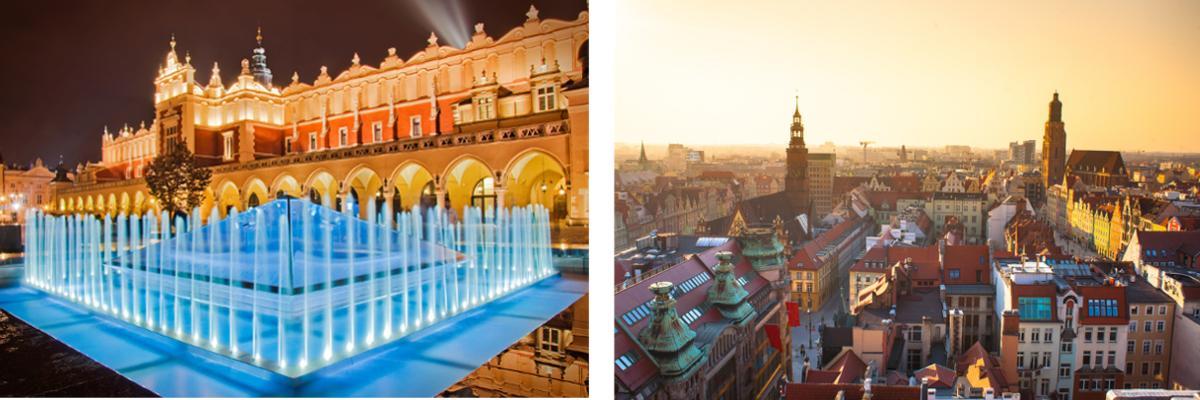 Polen: Krakau und Breslau