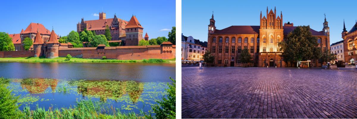 Polen: Marienburg und Torun
