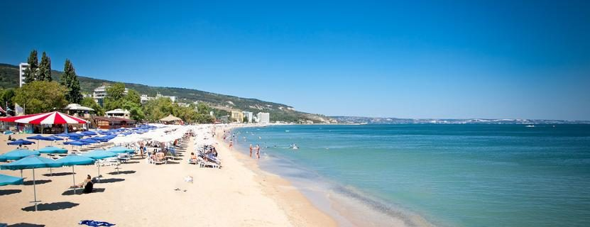 Strand in Bulgarien