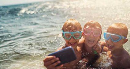 Sommerurlaub mit der Familie