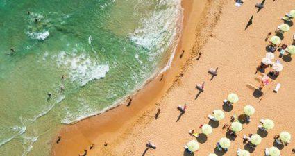 Strand in Bulgarien