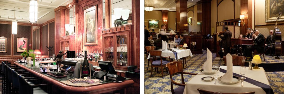 Das Restaurant Gundel in Budapest