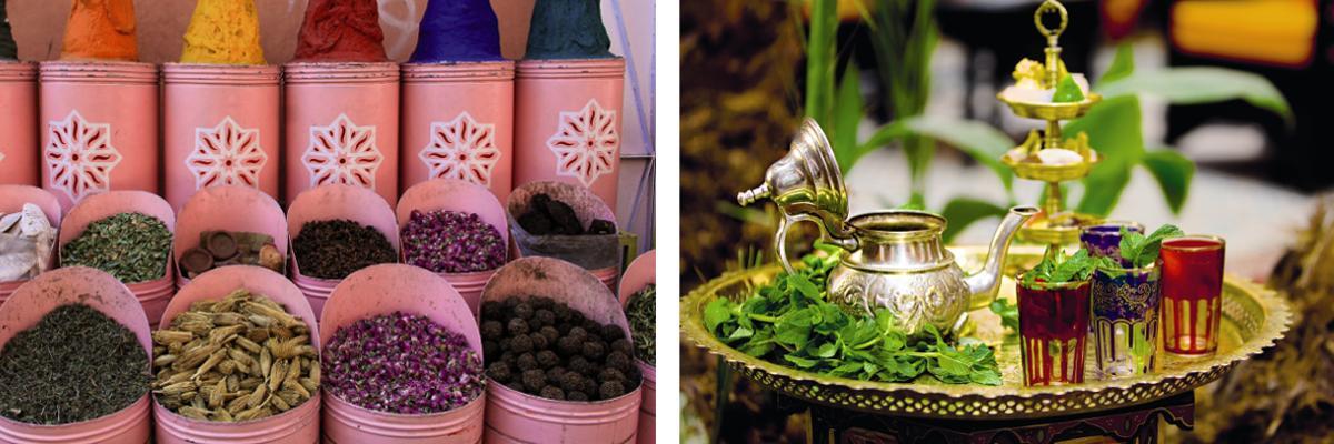 Urlaub: Essen in Marokko
