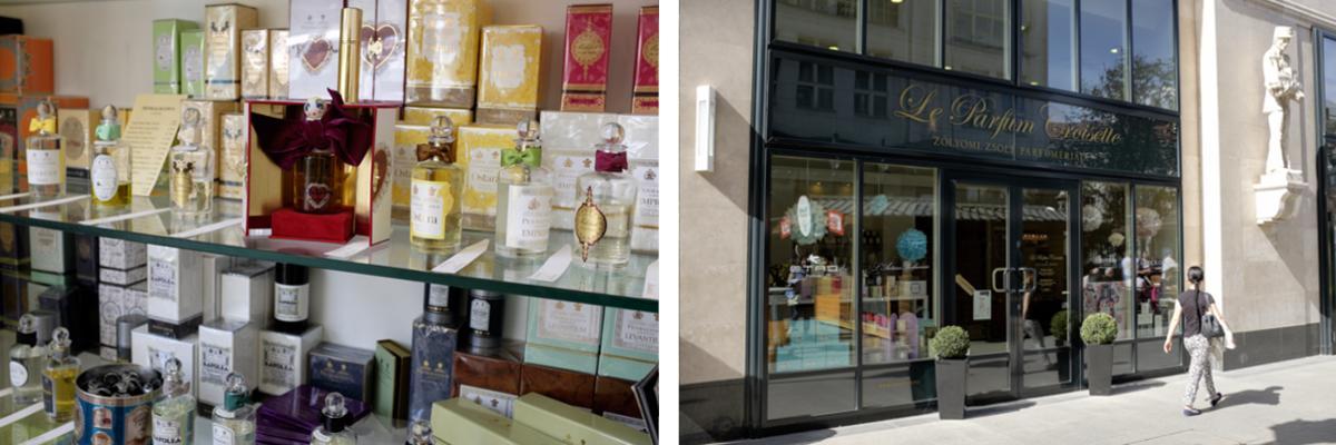 Budapests Parfümerie