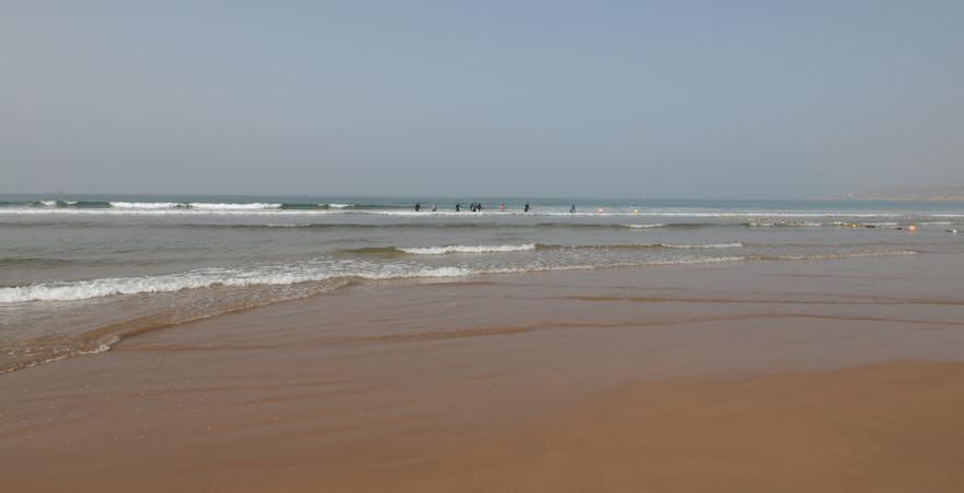 Surfen, Taghazout, Marokko