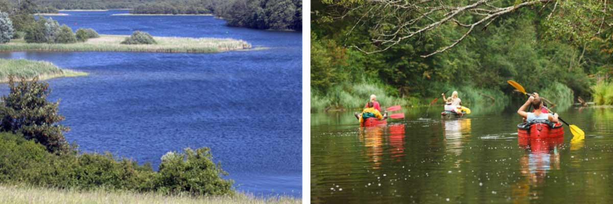 Aktivitäten an der Mecklenburgischen Seenplatte