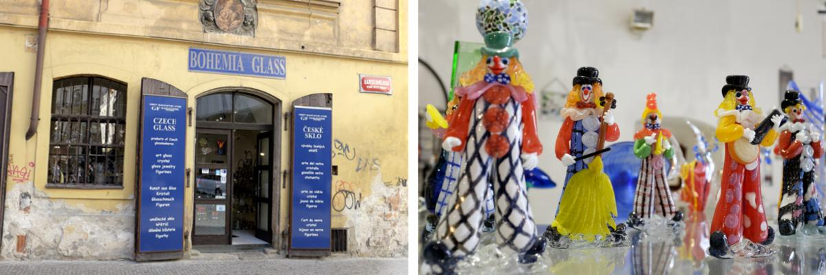 Shoppen in Prag: Bohemia Glass