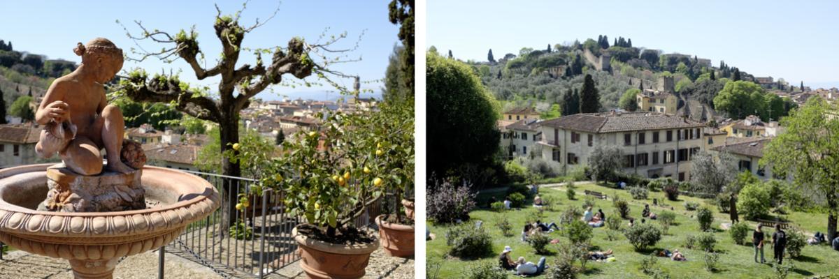 Garten in Florenz