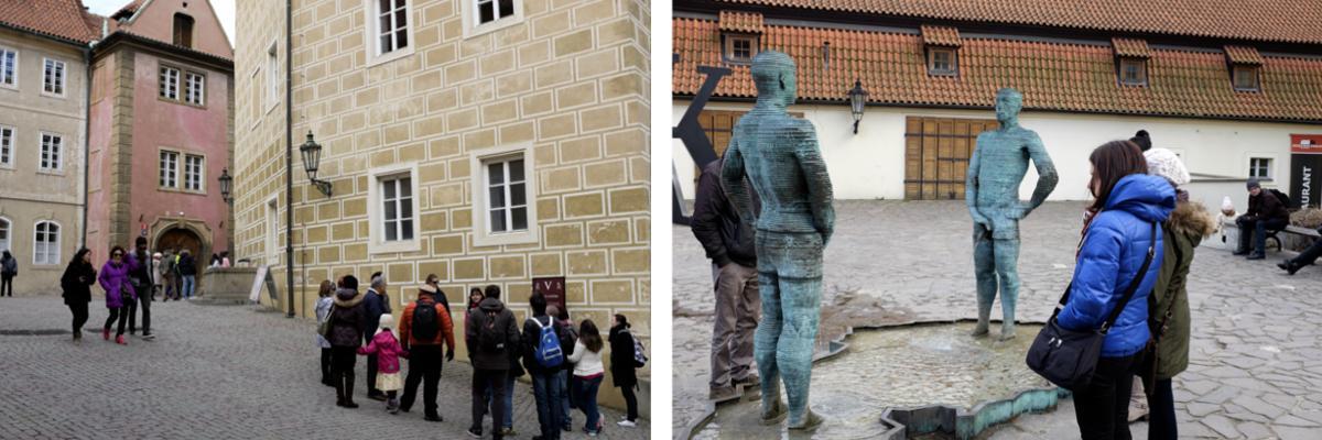 Prag: Goldene Gässchen und Pissing Fountain
