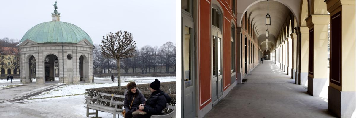 Münchens Sehenswürdigkeiten Hofgarten