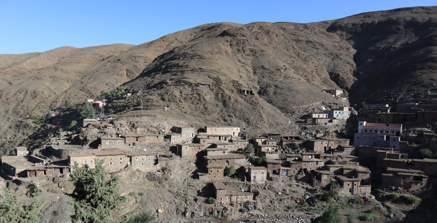 High Atlas, Berber village, Morocco