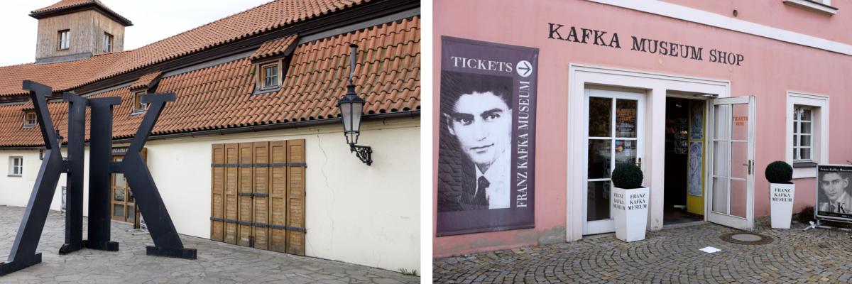 Prag: Das Kafka Museum