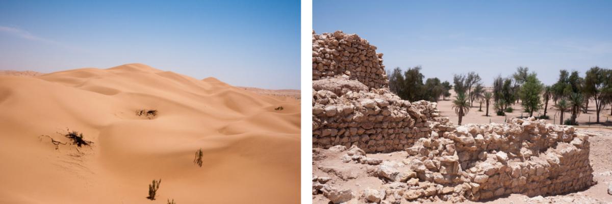 Wüste in Salalah