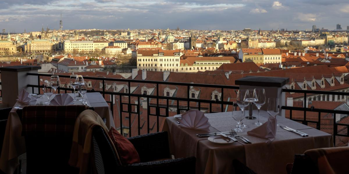 Prag Restaurant: Das Terasa U Zlate studne