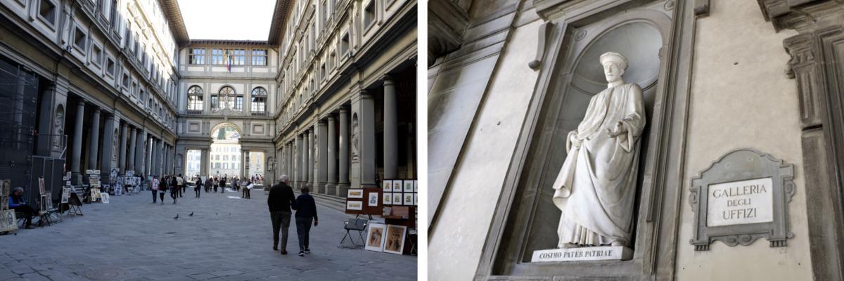 Florenz Museum Uffizien