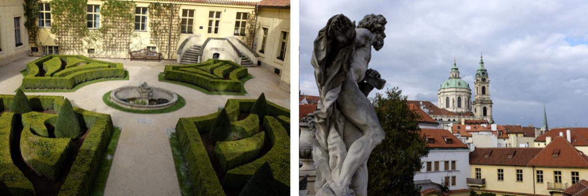Urlaub in Prag: Vrtba Garten